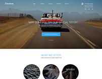 Car Dealer Website - UX / UI Design