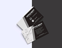 Business card design: Apple Refit
