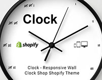 Clock – Responsive Wall Clock Shop Shopify Theme