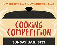 Poster UW Cooking Club Competition