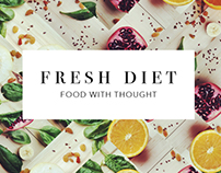 Fresh Diet Brand Concept