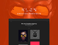Klen - Creative Portfolio (WordPress)