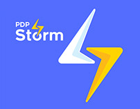 PDP Storm | Rebranding | Logo | branding