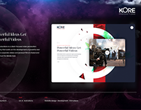 Kore Productions UX UI Animation