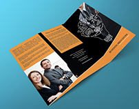 Free Tri Fold Corporate Brochure Template