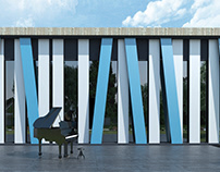 Państwowa Szkoła Muzyczna w BRODNICY - wnętrze + fasada