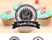 Retro Cupcake Badges