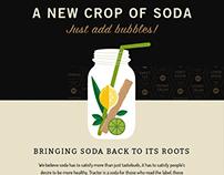 Branding + UI/UX – Tractor Soda Co.