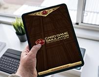 Card Game Simulator Game UI
