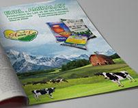 AmiraLait Dairy Magazine Ad