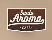 Projeto de Marca - Café Santo Aroma