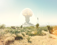 Mushroom Cloud with Nick Meek | CGI & Retouching