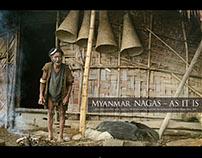 Book, Myanmar Nagas - As It Is