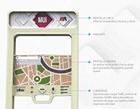 Módulo Urbano Interactivo - Modelado 3D