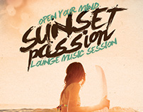 Sunset Passion Vol. 1 Flyer/Poster
