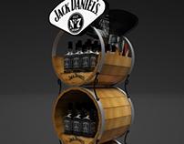 Exhibidor Jack Daniel's
