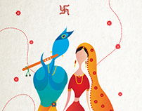 Rahul & Dee: Wedding cards