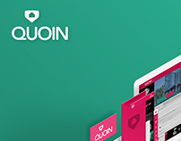 Quoin App Product Branding & Visual