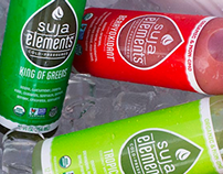 Suja Elements Packaging