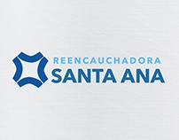 Sitio web Reencauchadora Santa Ana