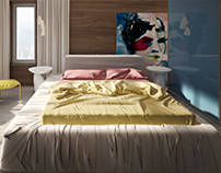 "Bed ""Mummy"" by NLO design"