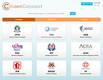CitizenConnect Centre+ Web App