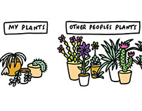 Other Peoples Plants Illustration + Patterns