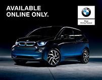 BMW i3 | OnlineStore Launch