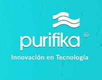 Purifika | Diseño web | Branding/Redes