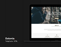 Dolomia - Hiking, Outdoor, Mountain Guide HTML Template