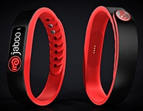 Jaboo smart band for contact sports