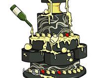 Food illustration: Tier Cake