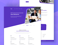 Zoop I Agency Landing Page