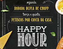 Flyer Happy hour Singular