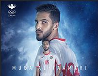 Jordan Olympic Committee SM - Musa Al Tamamari