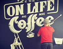 On Life mural