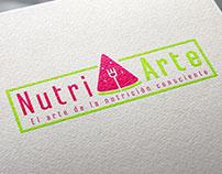 NutriArte Logo design