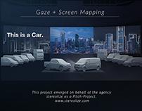 Gaze + Screen Mapping
