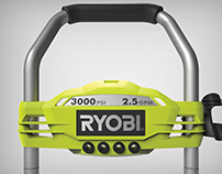 RYOBI Pressure Washer - Performance Panel