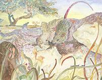 Studies of Various Children's Book Illustrators