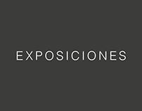 CARTELES DE EXPOSICIÓN IAGO / 2016