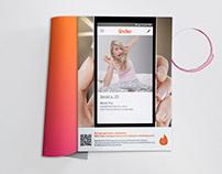 Tinder App Magazine Campaign