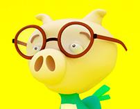 Pig - Bird - 3D