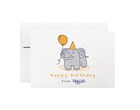 Birthday Postcard Illustration