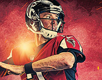 Atlanta Falcons Game Program Article - MATT RYAN