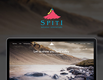 Spiti Holiday Adventure - Website Design