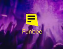 Funbee app - concept