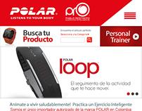 Tienda Web PolarPro Ejercicio Inteligente