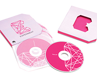 Experiment Magazine   Corporate Identity, Cd Package