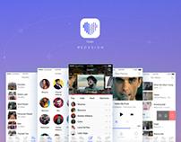 Vusic App Redesign